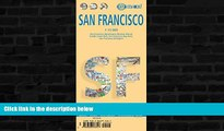 Big Sales  Laminated San Francisco Map by Borch (English, French, Spanish, German and Italian