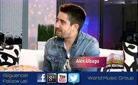 Top Trending Entrevista - Entrevista Alex Ubago - World Music Group
