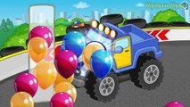 Cars and Trucks - Street Vehicles videos for kids - Puzzle Cars for Kids : Ambulance, Car