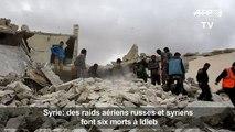 Syrie: des raids aériens font six morts à Idleb