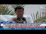 Mga opisyal at kawani ng Pamahalaan na sangkot sa iligal na droga, binalaan ni Pangulong Duterte