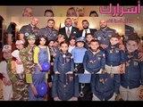 صور جماعية لفرقة الفناير رفقة الملك محمد السادس والأطفال