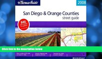 Big Sales  The Thomas Guide 2008 San Diego   Orange Counties Street Guide (San Diego and Orange