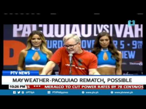 SPORTS NEWS: Mayweather-Pacquiao rematch, possible