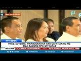 Pangulong Duterte, pinangunahan ang oath-taking ng mga bagong NPC officials