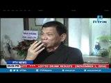 Pangulong Duterte, pinasisibak ang dalawang opisyal ng Pamahalaan dahil sa korupsyon