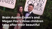 Brian Austin Green and Megan Fox are raising 'beautiful babies'