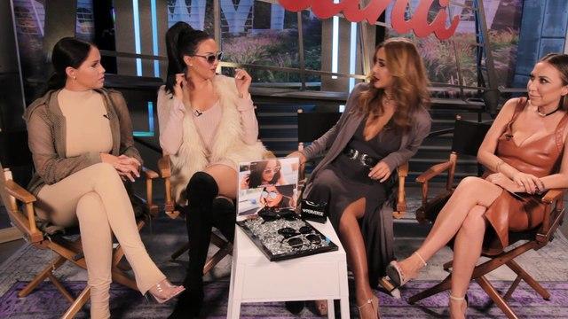 WAGS Olivia Pierson, Natalie Halcro Perverse Sunglasses Collection with Toni Ko