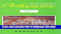 Ebook The Kautiliya Arthasastra (3 Vols.) (vol.1 in Sanskrit, vols. 2   3 in English) (Pt. 1-3)
