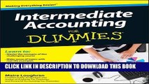 [PDF] Intermediate Accounting For Dummies Popular Collection