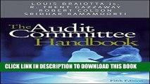 Best Seller The Audit Committee Handbook Free Read