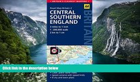 Big Deals  Central Southern England Road Map (AA GB2) (Aa Road Map Britain)  BOOOK ONLINE