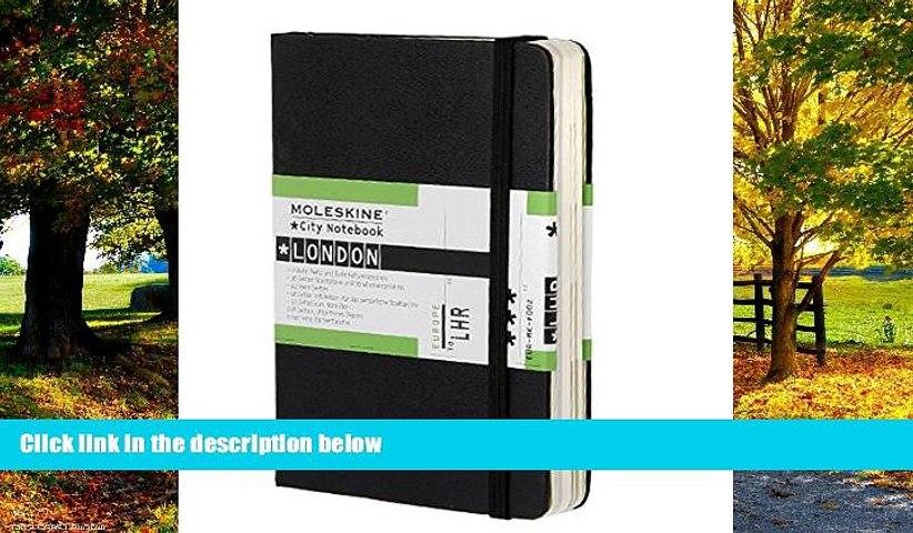 Best Buy Deals  Moleskine City Notebook - London, Pocket, Black, Hard Cover (3.5 x 5.5) (City