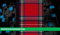 Deals in Books  Tartan Journal: Scottish / Scotland Gifts / Gift / Presents ( Large Notebook with