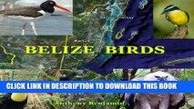 [PDF] ANTHONY BENJAMIN S TRAVEL GUIDE EXPLORES: BELIZE Birds Popular Collection