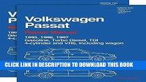 Read Now Volkswagen Passat Repair Manual--1995-1997: Including Gasoline, Turbo Diesel, Tdi