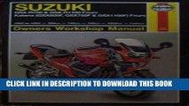 Read Now Suzuki GSX-R750 and GSX-R1100 Fours, Katana (GSX600F, GSX750F and GSX1100F) Fours Owners