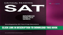 [PDF] SAT Critical Reading Workbook (Advanced Practice Series) (Volume 4) [Full Ebook]