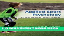 [PDF] Applied Sport Psychology: Personal Growth to Peak Performance [Online Books]