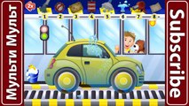 Sport Car - Police Car, Ambulance - Funny Cars Wash For Kids