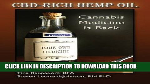 [PDF] CBD-Rich Hemp Oil: Cannabis Medicine is Back Full Online
