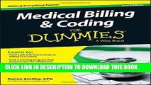 [PDF] Medical Billing and Coding For Dummies Full Online