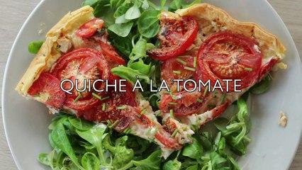 Recette Quiche à la Tomate légère