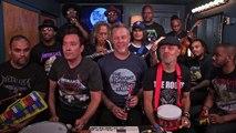 Metallica, Jimmy Fallon et The roots reprennent Enter Sandman avec des instruments d'enfant - The Tonight Show
