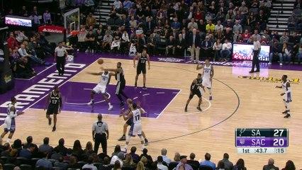 San Antonio Spurs vs Sacramento Kings | Full Highlights | November 16, 2016 | 16-17 NBA Season