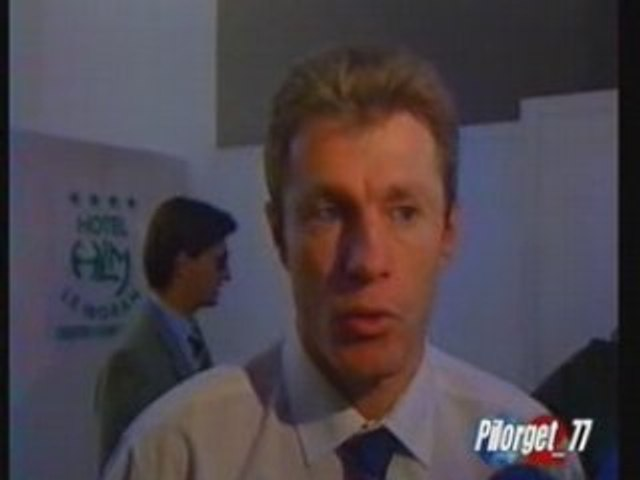 MILAN AC-PSG 94-95, reportage France 2