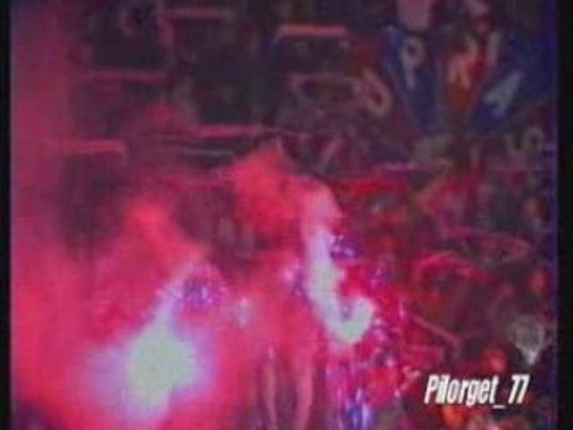 PSG-REAL MADRID 93-94, FIN DU MATCH