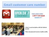 Gmail customer care 1-877-729-6626 number for slow speed issues