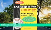 "Enjoyed Read SAT Subject Testâ""¢: Biology E/M w/CD (SAT PSAT ACT (College Admission) Prep)"