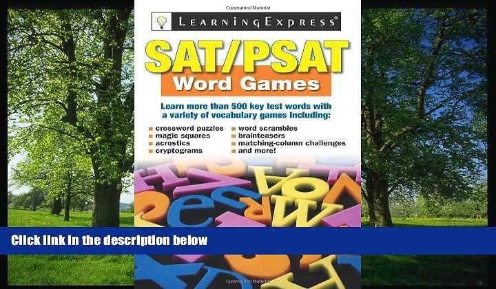 Online eBook SAT/PSAT Word Games
