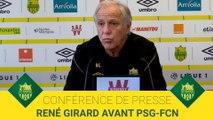 René Girard avant PSG-FCN