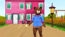 Teddy Bear Teddy Bear Turn Around Cartoon | Teddy Bear 3D Animated Children Nursery Rhymes