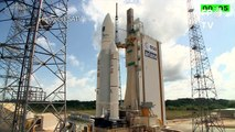 Ariane 5 décolle en emportant quatre satellites Galileo