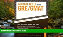 Fresh eBook Writing Skills for the GRE and GMAT Tests