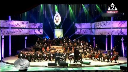 هاني شاكر شكراً من حفل مهرجان الموسيقي العربيه الخامس و العشرون