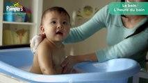 Conseils pour les parents - Le bain de bébé - Pampers