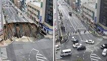 L'efficacité incroyable des Japonais en une vidéo : la reconstruction d'une route effondrée en seulement 7 jours !