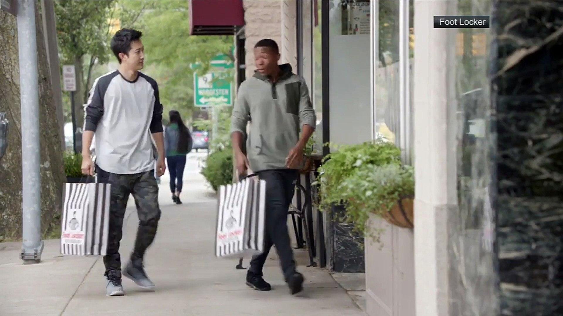 OFFICIAL FOOT LOCKER AD, Tom Brady makes fun of deflategate in Foot locker advert/Commercial. FUNNY!