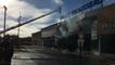 Incendie au centre-ville de Challans