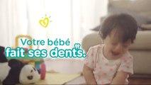 Conseils de Pampers pour les premières dents | Comment savoir si bébé fait ses dents ?