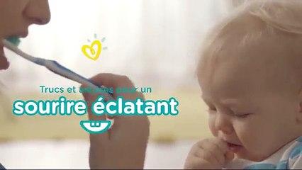 Conseils de Pampers pour les premières dents | Comment brosser les dents de bébé ?