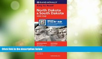 Rand McNally Rand McNally Folded Map: North Dakota, South Dakota (Rand McNally State Maps)