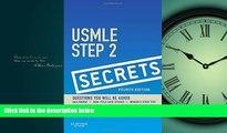 FAVORITE BOOK  USMLE Step 2 Secrets, 4e