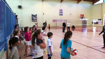 Les Mercredis Sportifs du Volley à Kingersheim