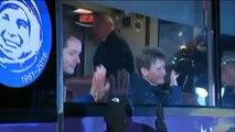L'astronaute Thomas Pesquet et ses collègues russe et américain disent au revoir à leurs proches