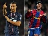 Ronaldinho vs Zlatan Ibrahimovic ● Best Goals Battle | [Công Tánh Football]
